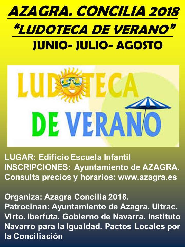 ludoteca de VERANO 2018
